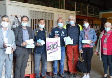 La CPAM de Vaucluse remet 90 000 masques aux Restos du Coeur